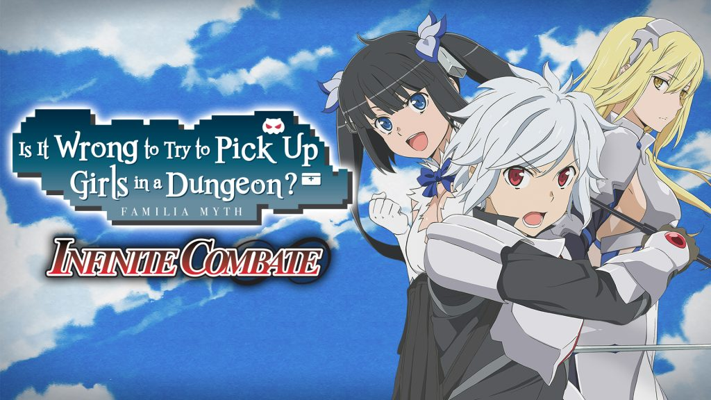 Is It Wrong to Try to Pick Up Girls in a Dungeon Familia Myth Infinite Combate Banner