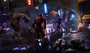 The playable heroes in Marvel's Avengers: Hulk, Iron Man, and Kamala Khan.