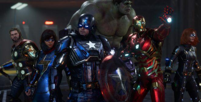 Marvel's Avengers in Stark Armor
