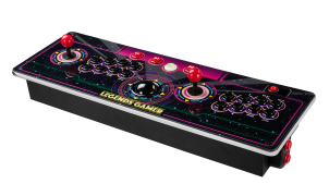 Image showcasing the AtGames Legends Arcade Gamer home console.
