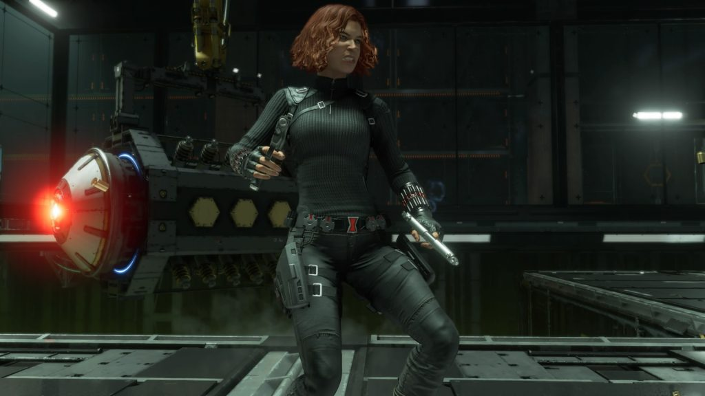 Black Widow character build guide