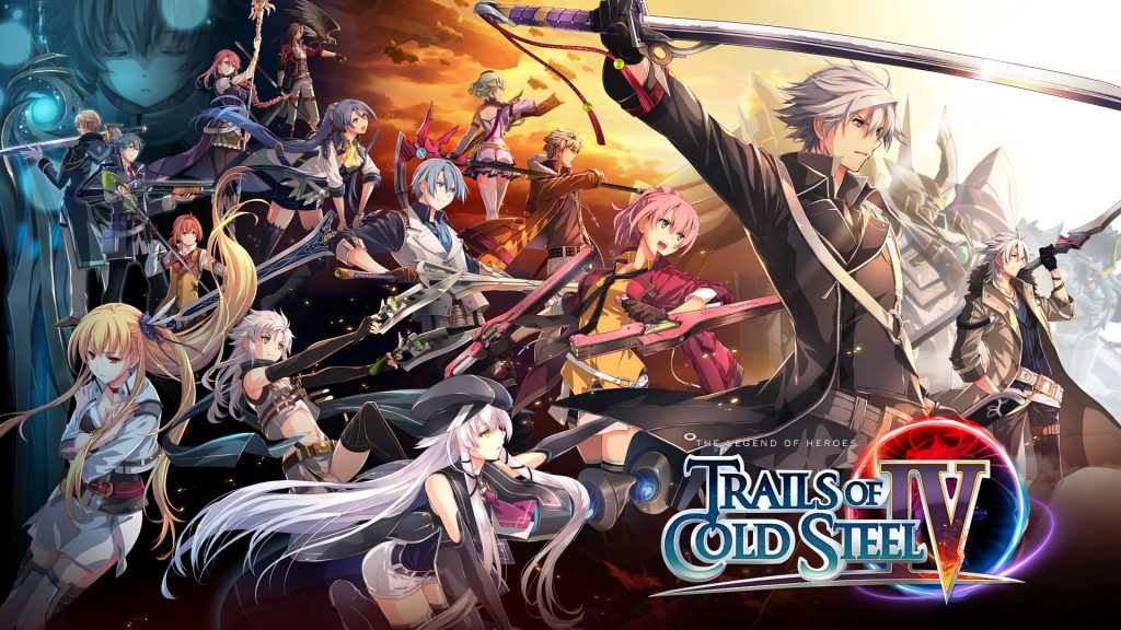 The Legend of Heroes: Trails of Cold Steel IV Banner