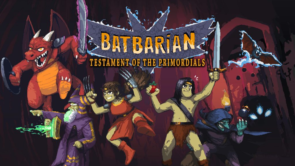 Batbarian: Testament of the Primordials banner art