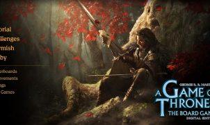 game of thrones boardgame digital edition menu