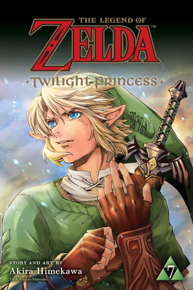 egend of zelda twilight princess volume 7 review