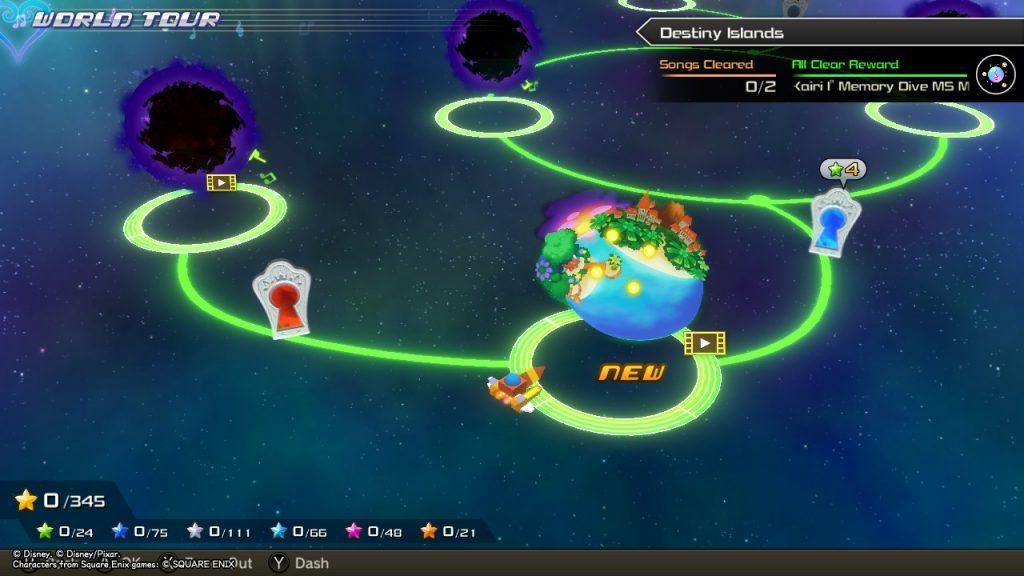 Kingdom Hearts MoM | Locked Worlds