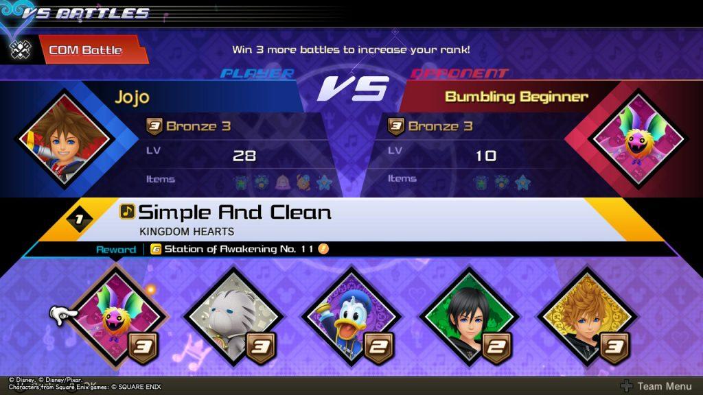 Kingdom Hearts MoM | Versus