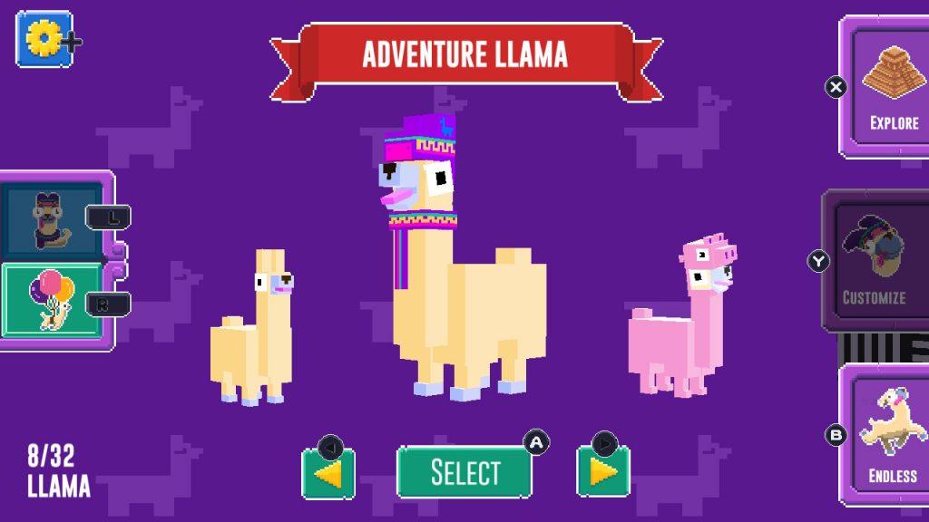 Nintendo Download | Adventure Llama