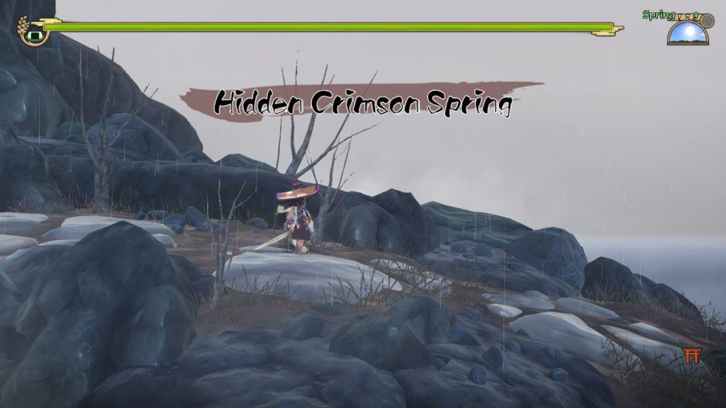Sakuna | Hidden Crimson Spring