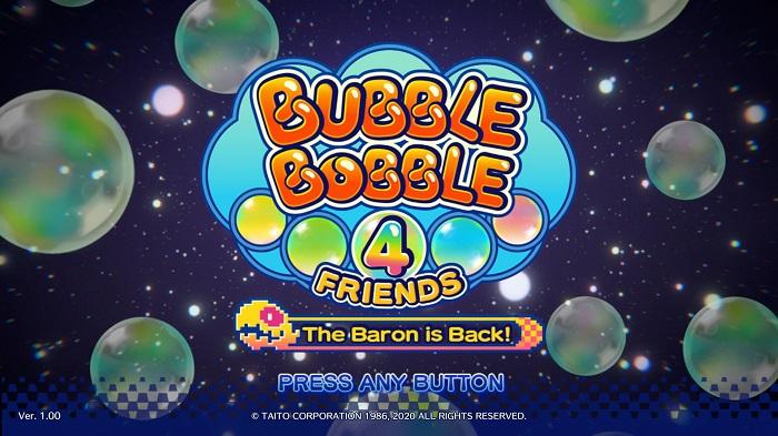 Bubble Bobble 4 Friends The Baron is Back Review