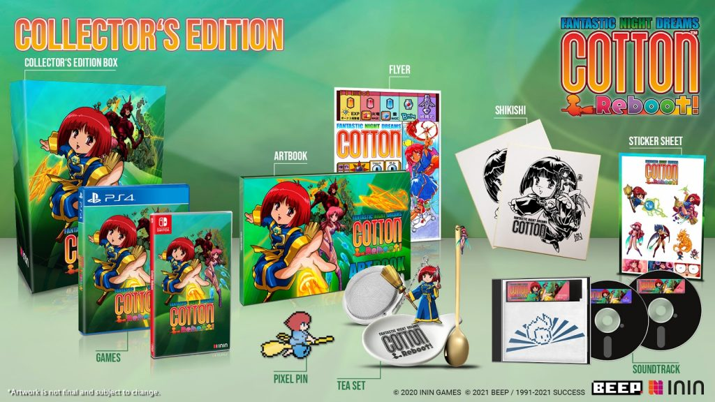 cotton reboot collector's edition