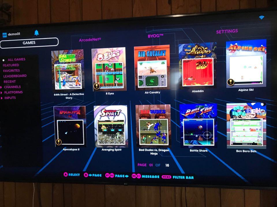 Legends Gamer Pro UI