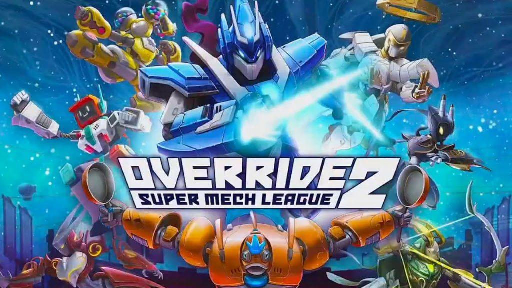 Override 2: Super Mech League banner