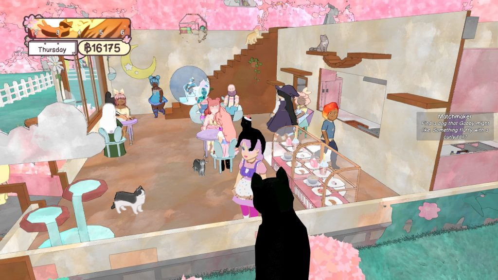 cat cafe games