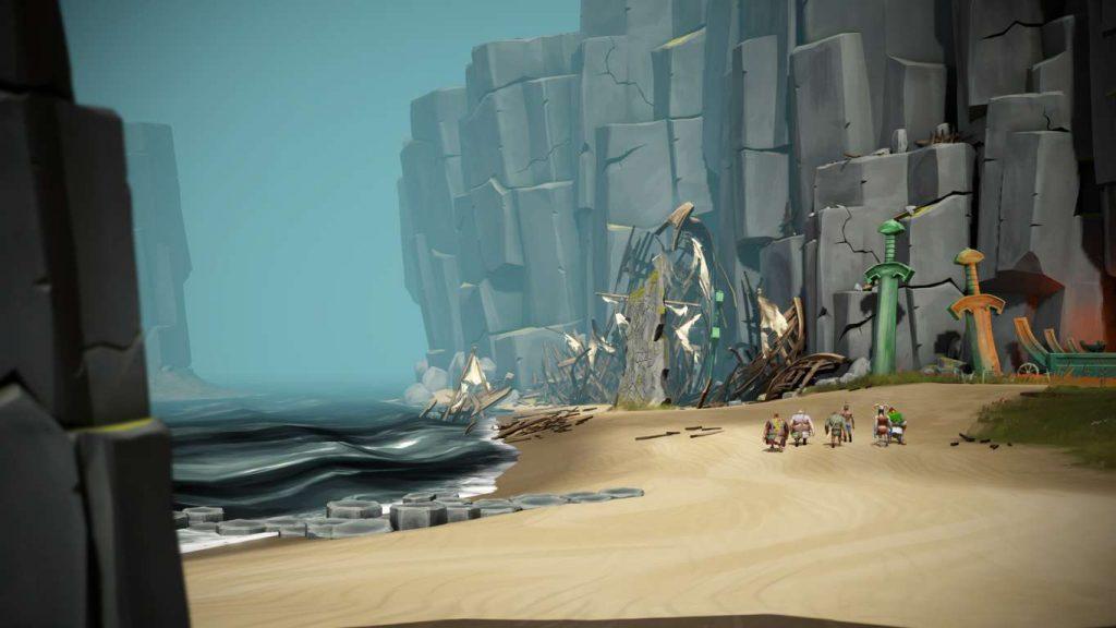Gods Will Fall | Beach