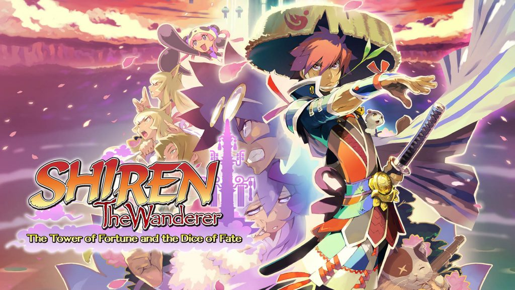 Shiren The Wanderer: The Tower of Fortune and the Dice of Fate Banner