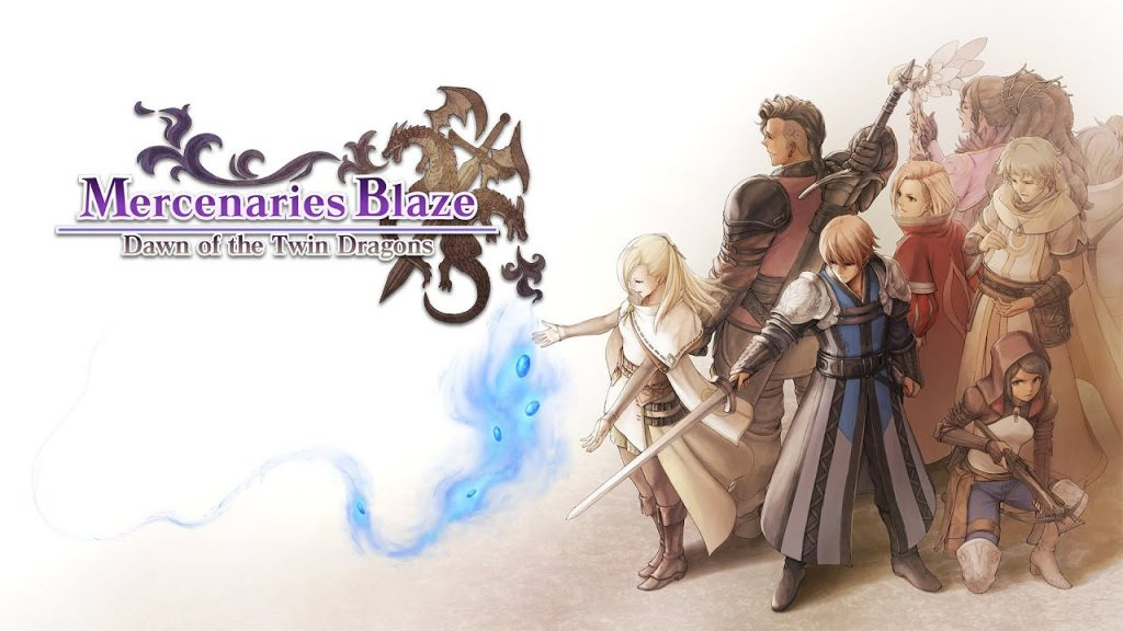 Mercenaries Blaze: Dawn of the Twin Dragons banner