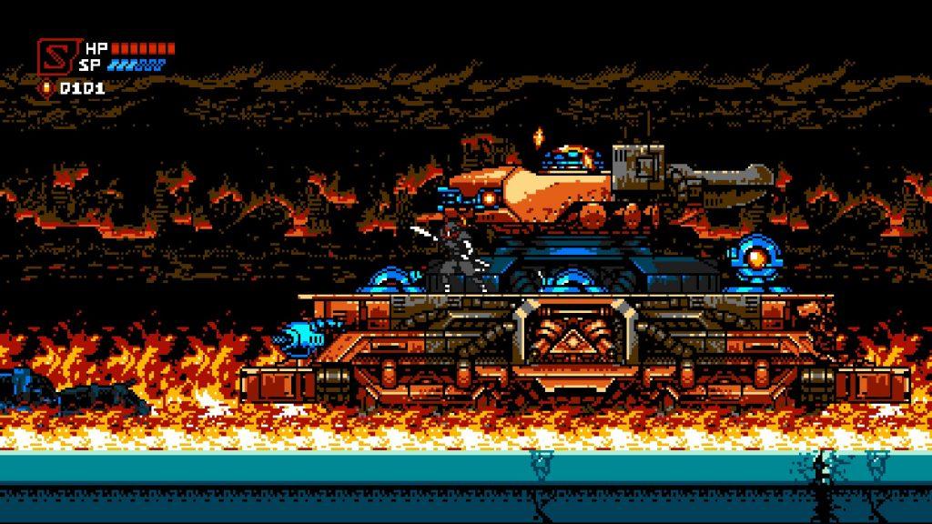 Cyber Shadow | Tank Boss