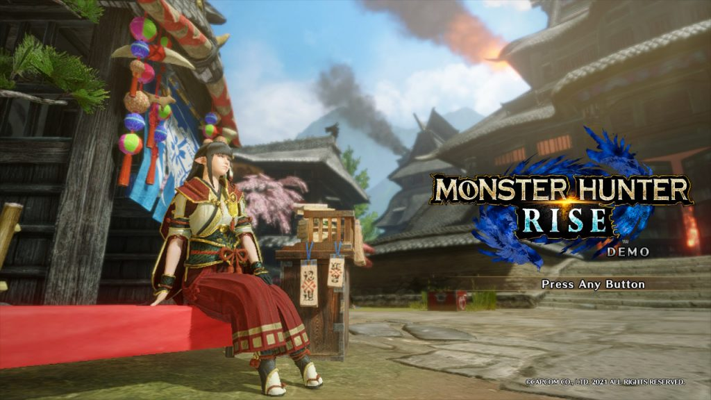 Monster Hunter Rise Demo | Title