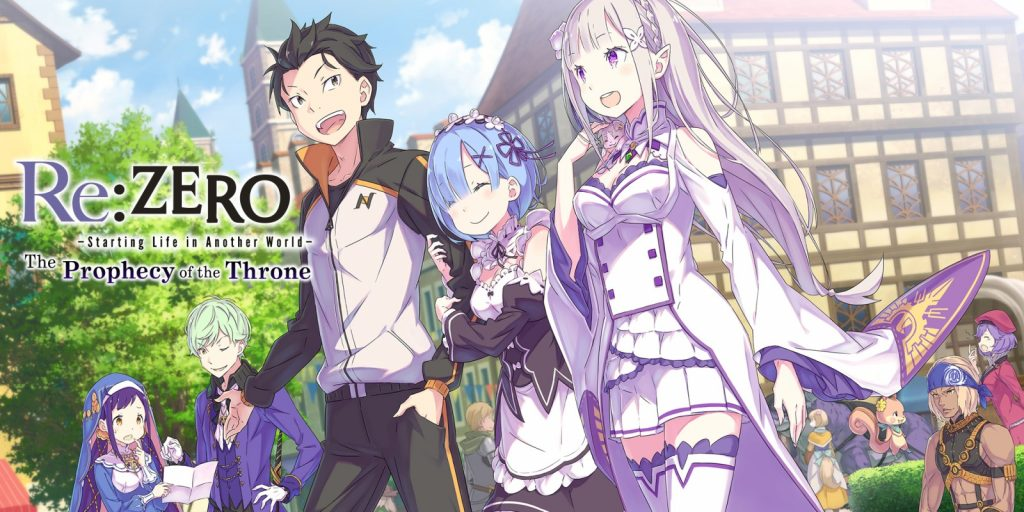 Re:ZERO The Prophecy of the Throne Banner