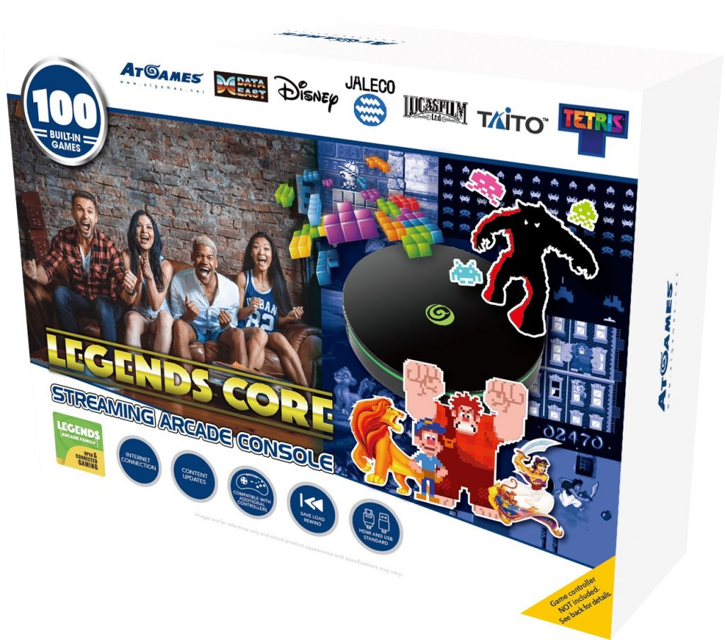 Legends Core Streaming Arcade Console
