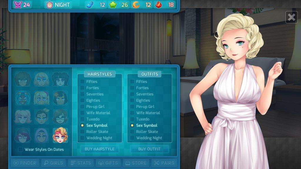 HuniePop 2 outfits guide