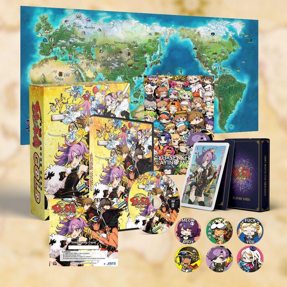 Eiyu*Senki Gold | World Map