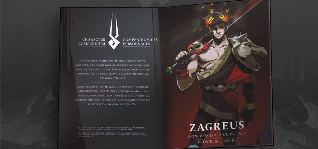 Hades | Physical Booklet