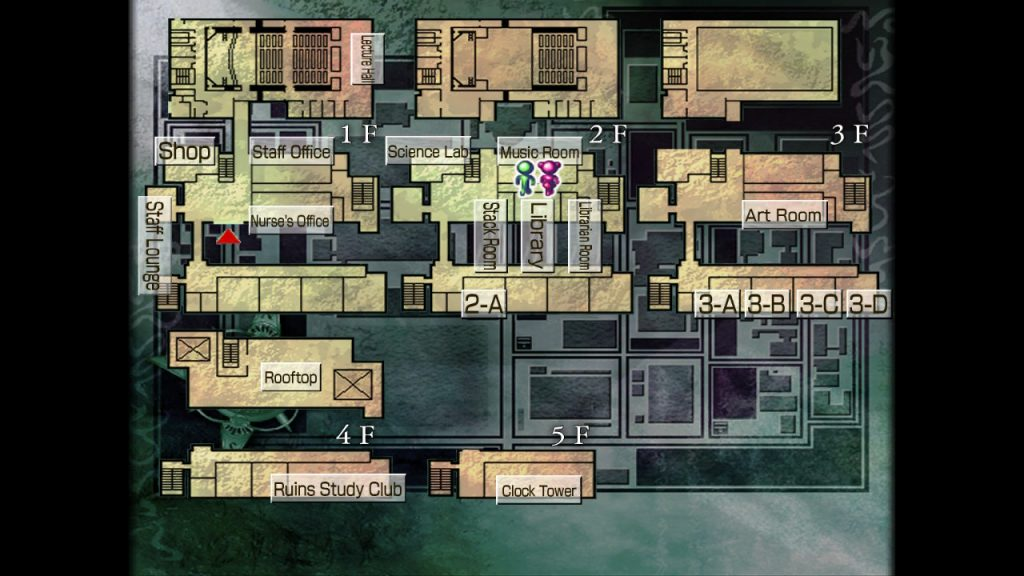 Kowloon High-School Chronicle | School Map