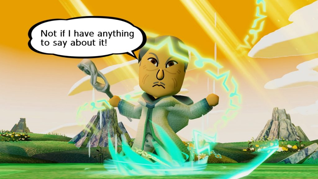 Miitopia Switch | Old Man