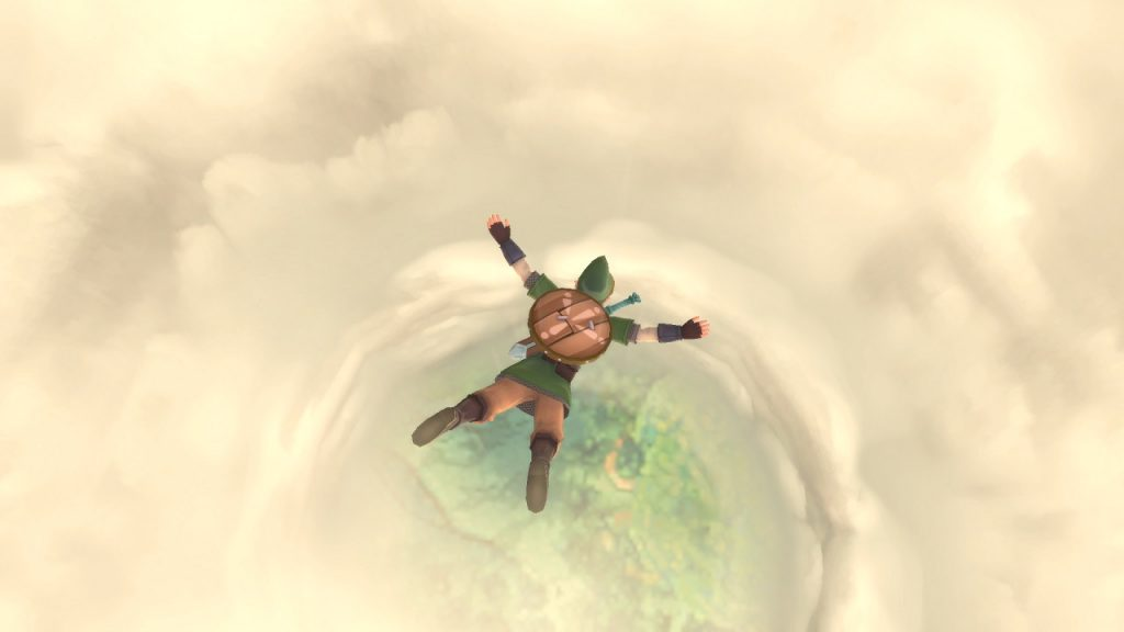 Skyward Sword HD   Freefall