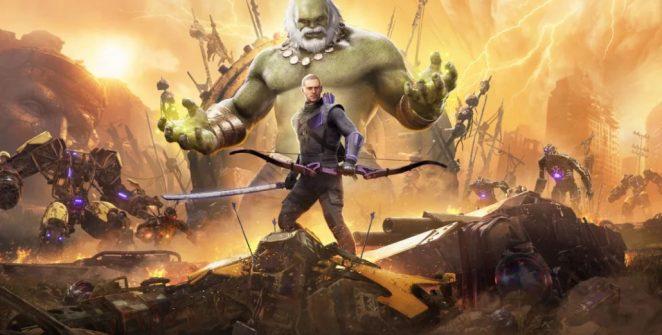 marvel's avengers Clint Barton