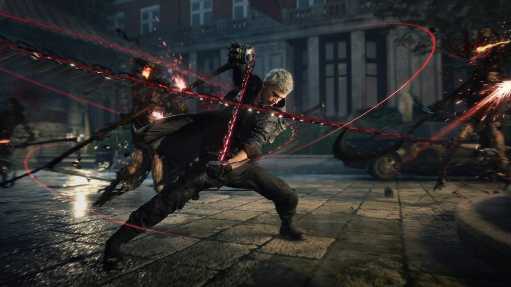 in devil may cry 5 nero uses chains