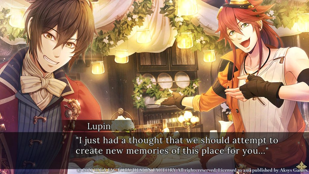 Code: Realize ~Wintertide Miracles~ Triangle Date