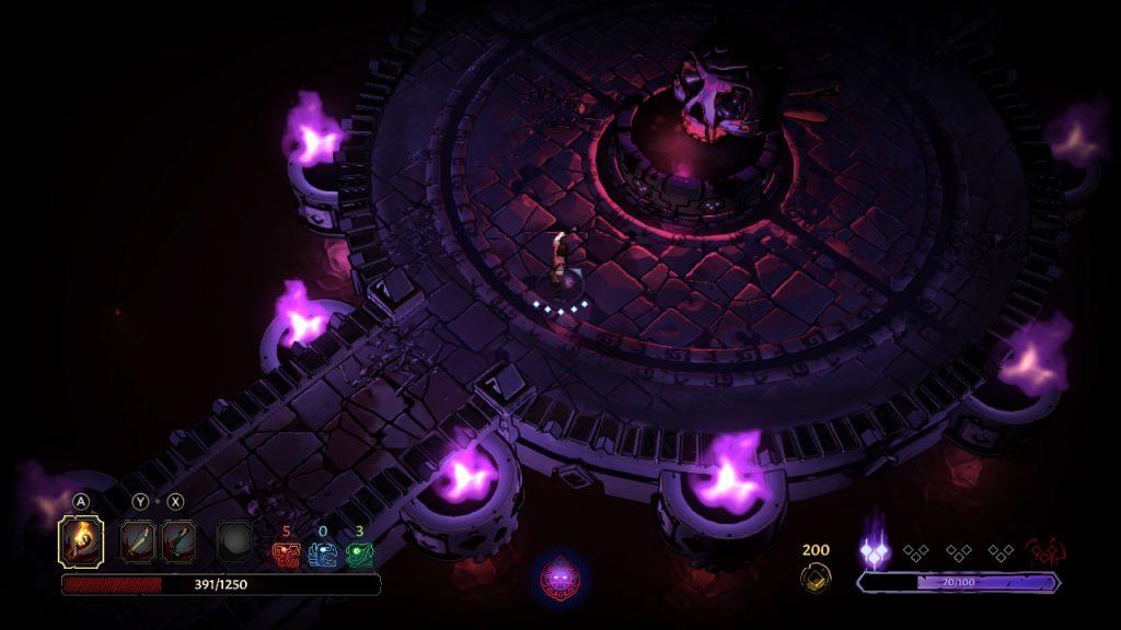 Curse of the Dead Gods   Heal Shrine