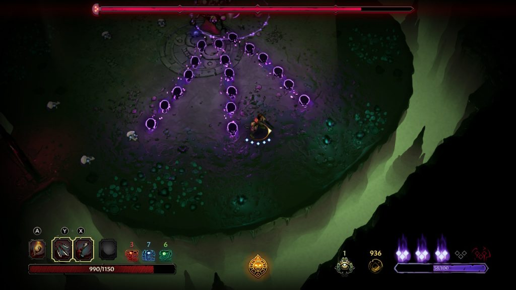 Curse of the Dead Gods   Witch Boss