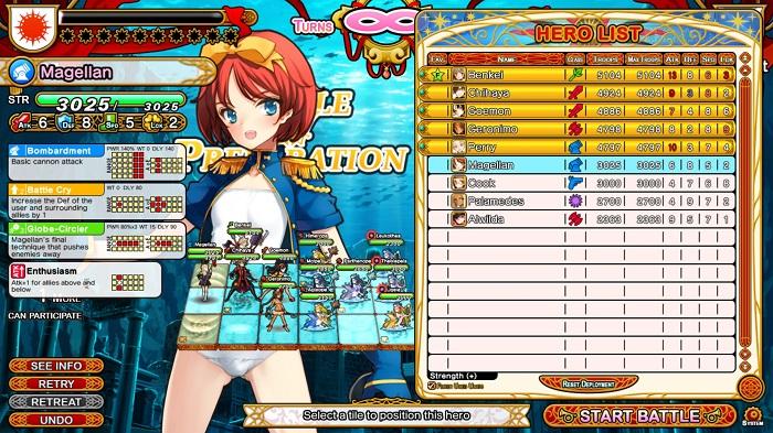 Eiyu*Senki Gold   Preparing for Battle