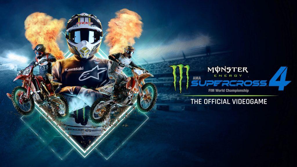 Monster Energy Supercross 4 Banner