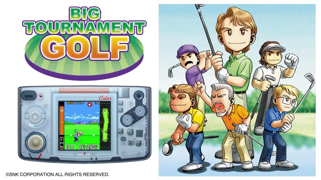 Neo Geo Pocket Color Selection Big Tournament Golf