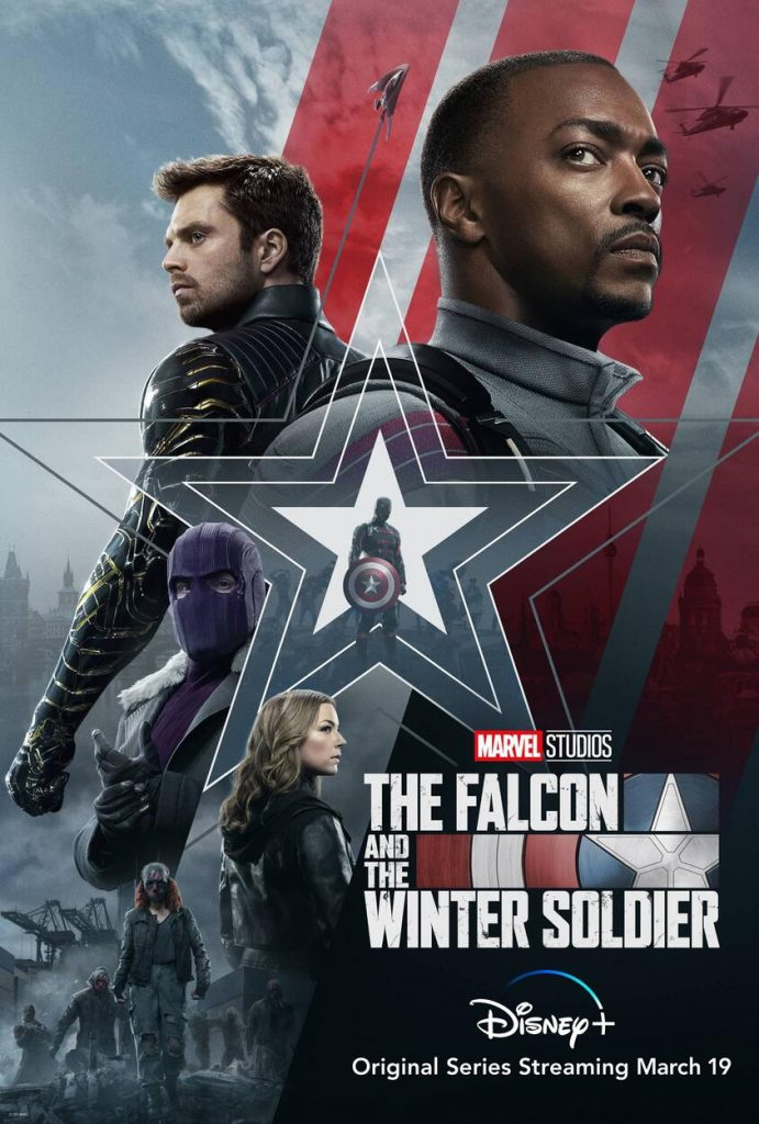 The poster for The Falcon and The Winter Soldier