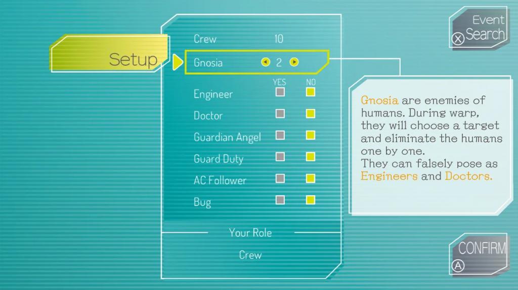Gnosia Guide