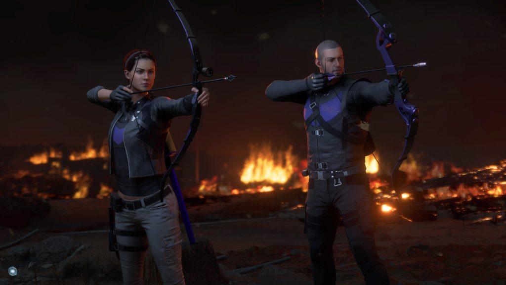 Clint Barton DLC   Taking Aim