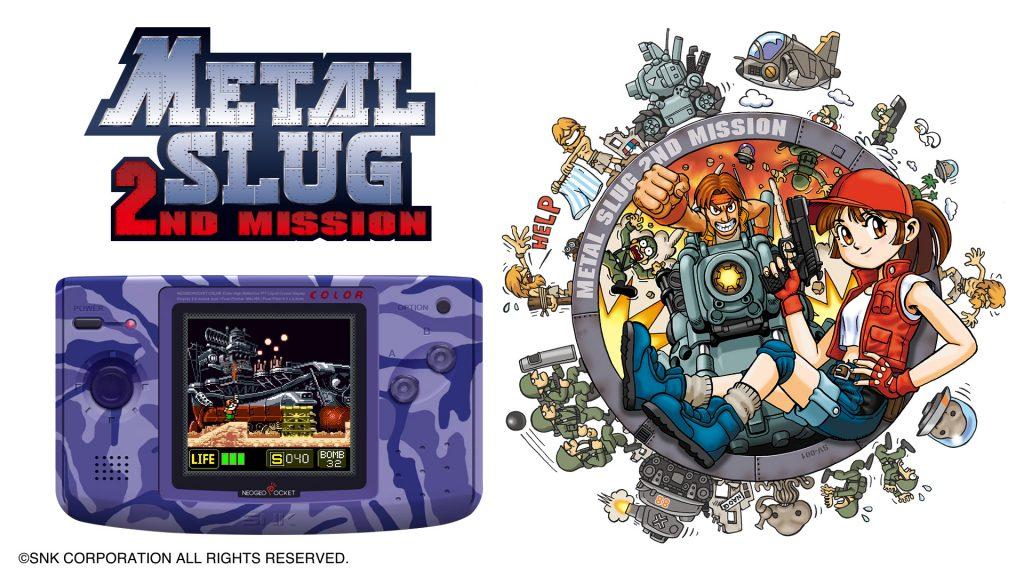 Neo Geo Pocket Color Selection review, Metal Slug 2nd Mission