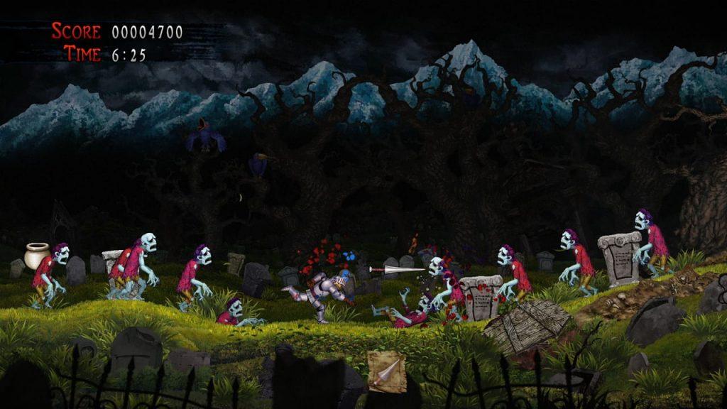 Ghost n Goblins Switch