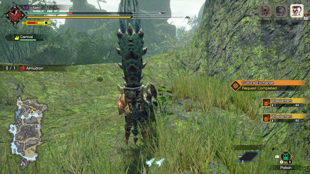 Monster Hunter Rise Wisplantern
