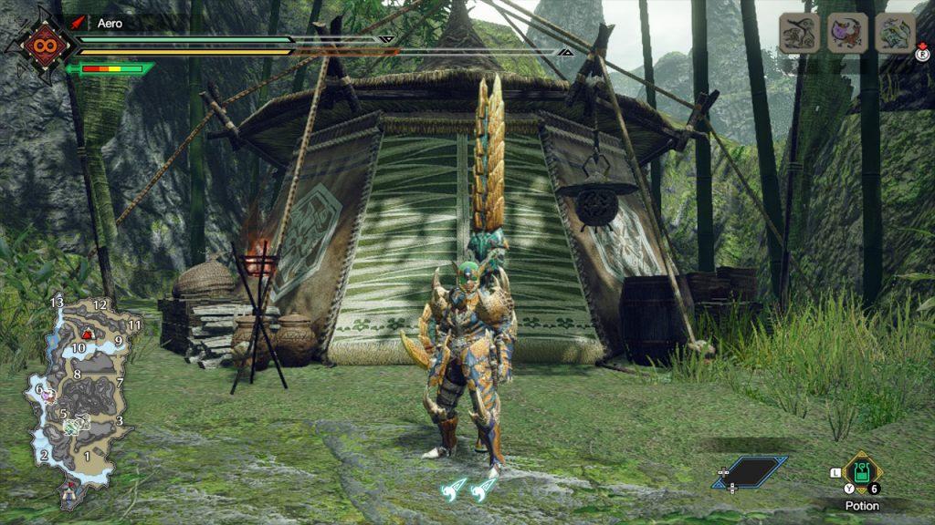 Shrine Ruins Sub-Camp 1 Monster Hunter Rise