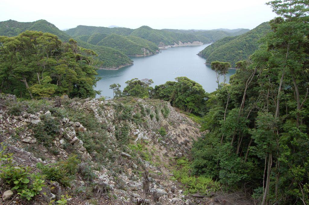 Fortress Kaneda Ruins Tsushima