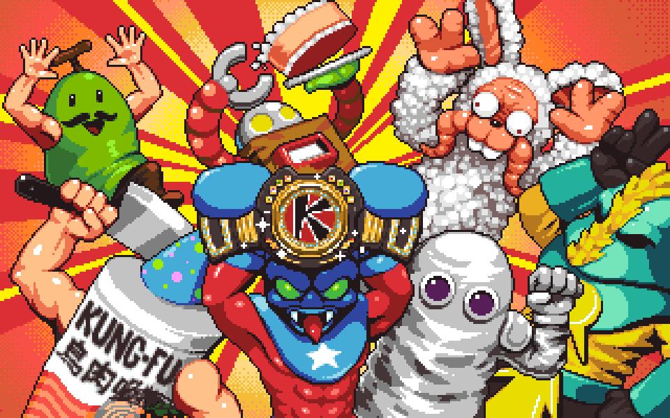 Kaiju Big Battel: Fighto Fantasy Banner