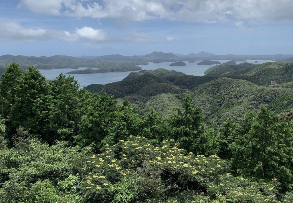 Mount Eboshi Observatory Tsushima
