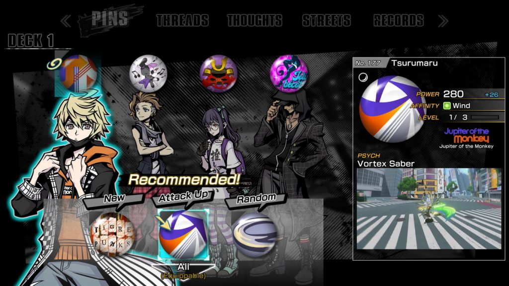 Neo: The World Ends With You | Pins